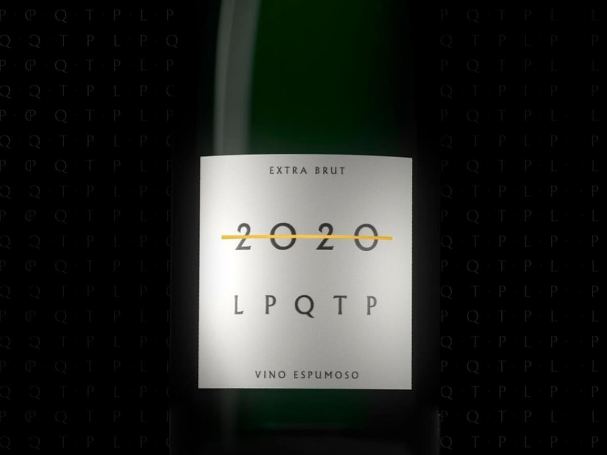 Un champagne para despedir el año: «2020, LPQTP»