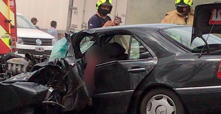 Accidente sobre Ruta 3. Un fallecido.