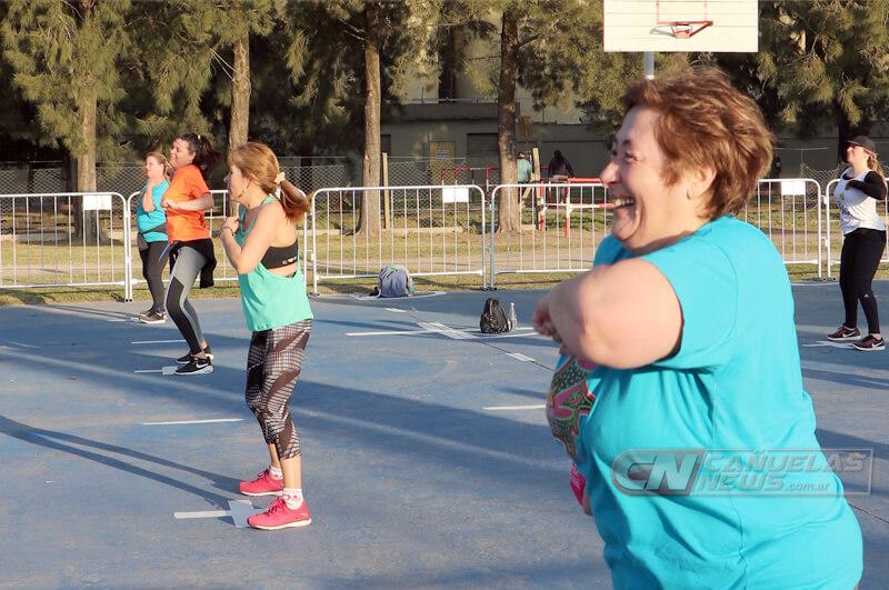 Deportes al aire libre en el Parque de Salud