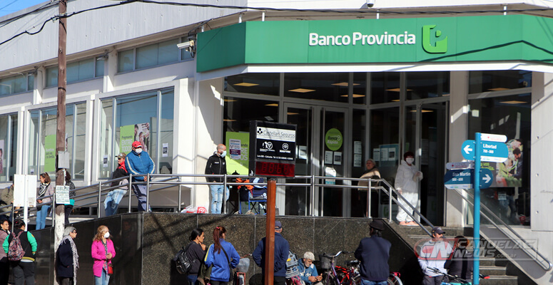 Banco Provincia, sucursal Cañuelas.