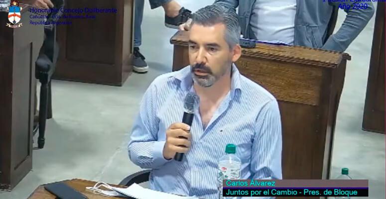 Carlos Alvarez concejal