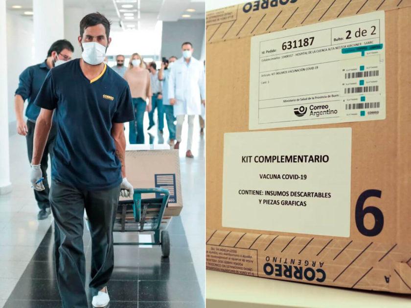 Vacunas Spunik V en Cañuelas