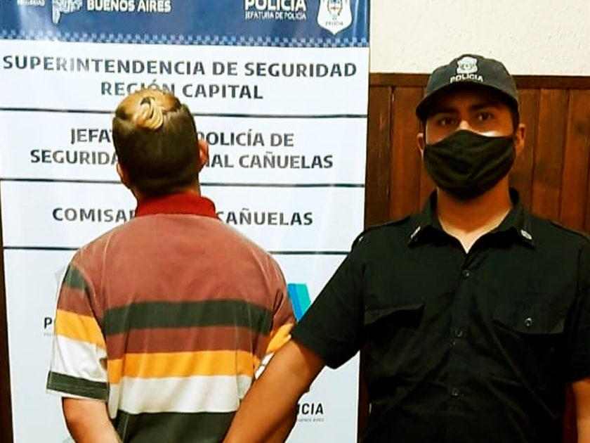 Lucas Villaba detenido