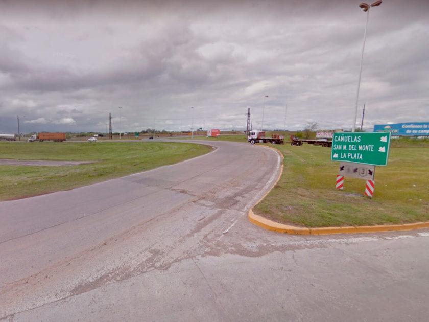 Vialidad Nacional - Rotonda de Ruta 3 y 6.