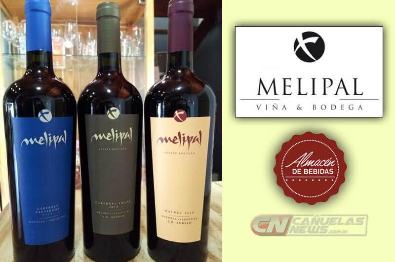 MELIPAL vino de Mendoza. Cabernet Franc y Malbec