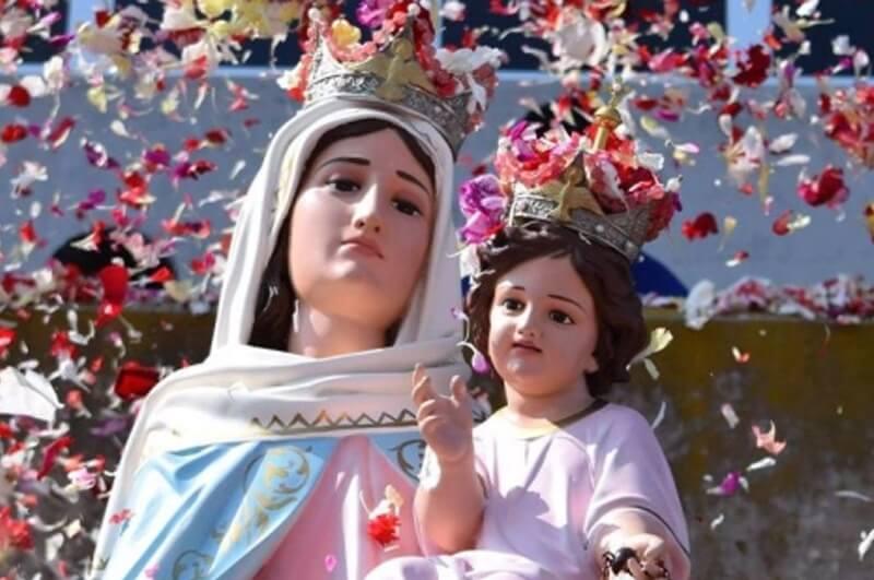 Llega a Cañuelas la Virgen del Rosario de San Nicolás