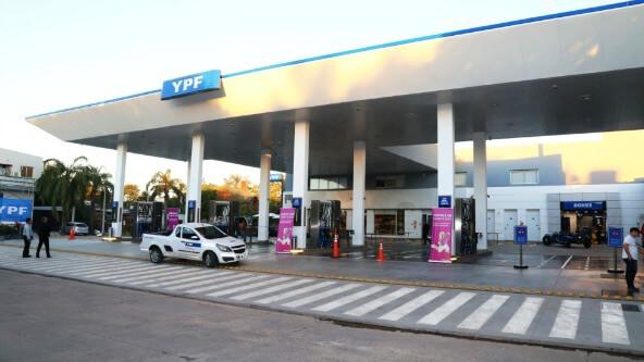 YPF aumento de naftas