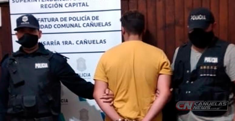 Joven aprehendido en Cañuelas