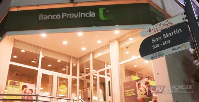 Banco Provincia sucursal Cañuelas