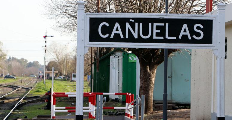Cañuelas estación de trenes