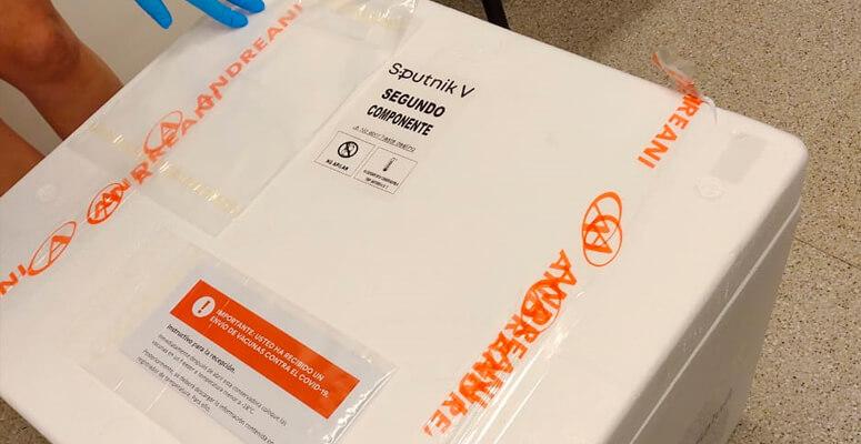 Vacunas Sputnik V en Cañuelas