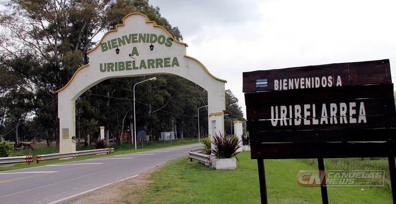 Acceso a Uribelarrea