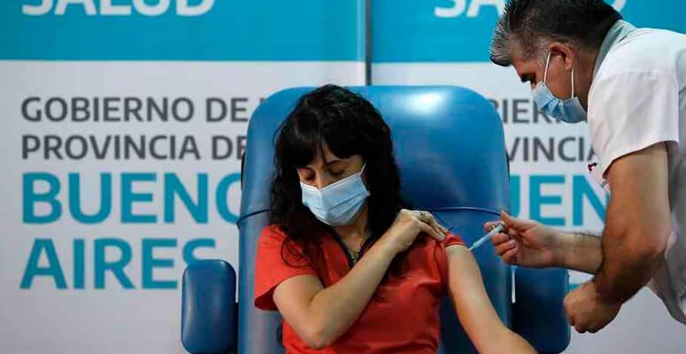 Vacunación: parte del personal de salud de Cañuelas ya fue vacunado