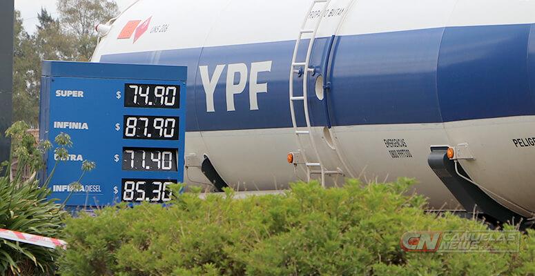 YPF de Ruta 205m, en Cañuelas.