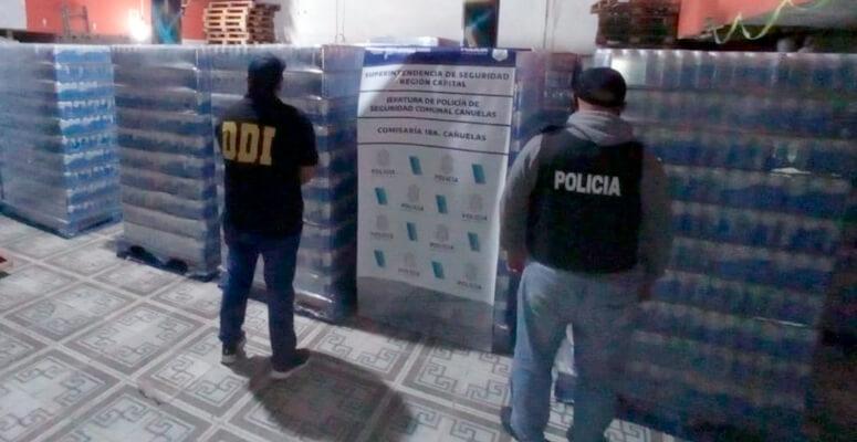 Carga secuestrada de cervezas quilmes