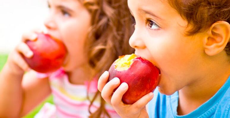 Frutas para los chicos