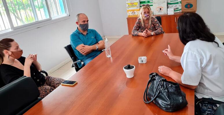 Grabya donó dos grupos electrógenos para la campaña de vacunación.