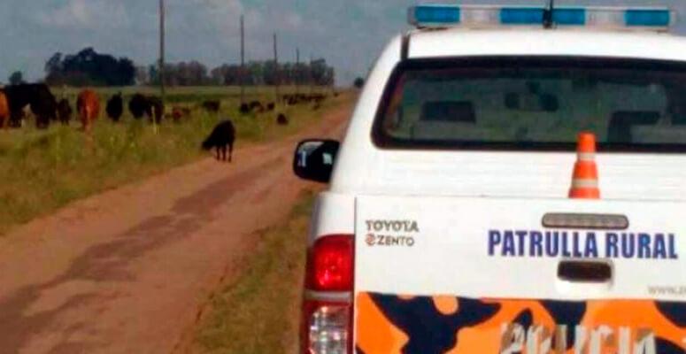 Móvil patrulla Comando Rural