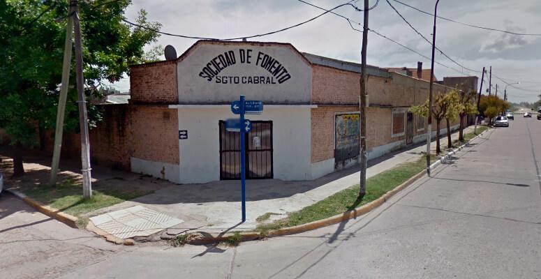 Sede de la Sociedad del Sargento Cabral.