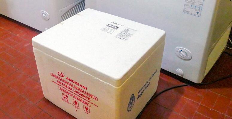 Las vacunas arribadas a Cañuelas