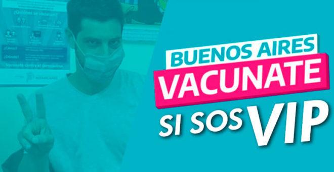 Vacunate si sos VIP