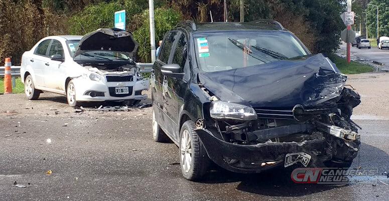Nuevo choque sobre Ruta 205 y Uruguay