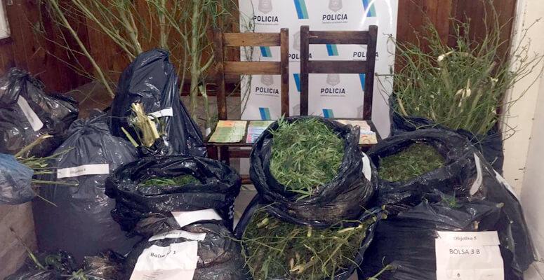 Importante procedimiento por drogas en Máximo Paz: Desbaratan la banda de «Los Burgos»