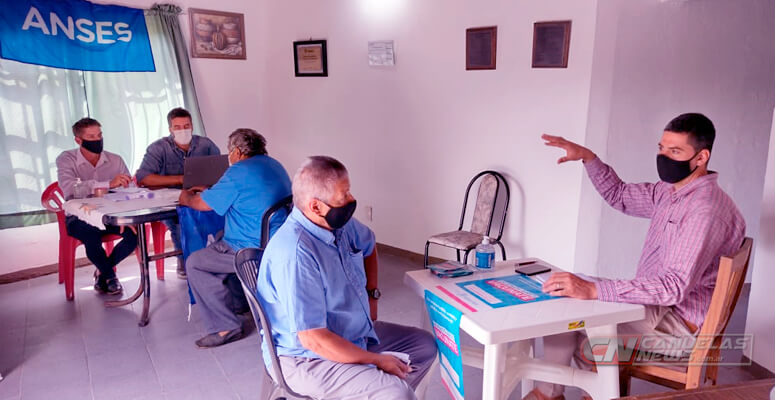 ANSES y PAMI en Uribelarrea