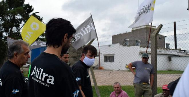Gremialistas de Atilra en Mayol