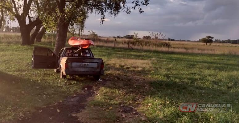 La camioneta de Delgado