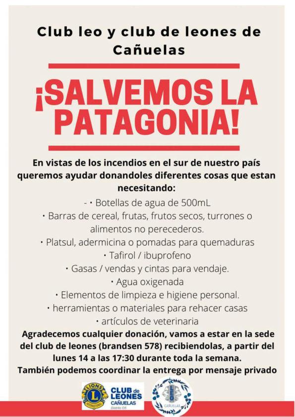 campaña por la patagonia