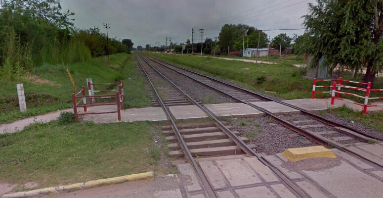 Fallece un joven en un cruce ferroviario.