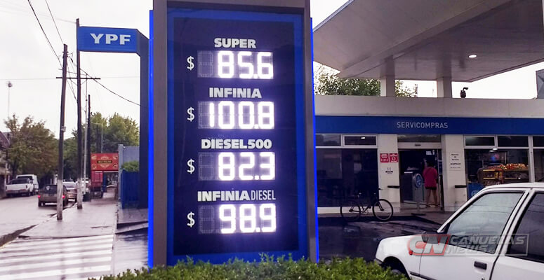 Combustibles en Cañuelas
