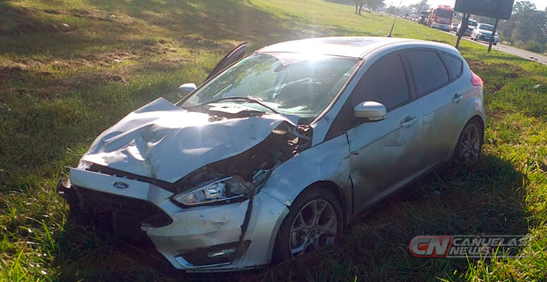 Ford Focus involucrado en el accidente.
