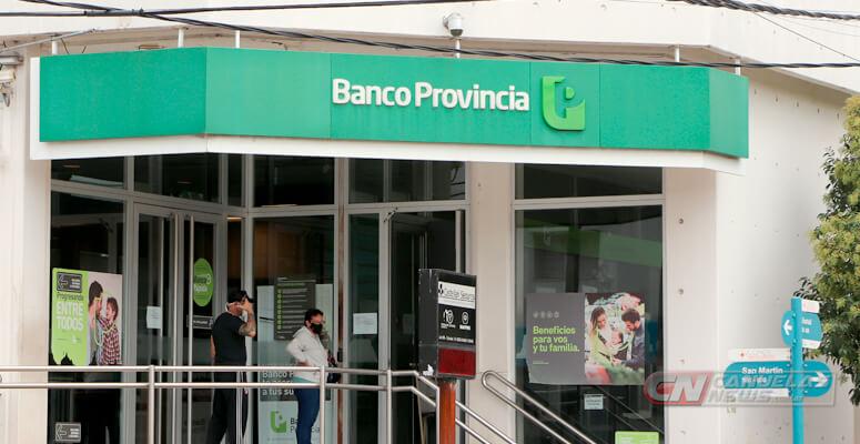 El Banco Provincia vuelve a atender de 10 a 15 horas
