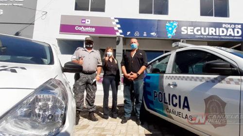 Berni entregó móviles e inauguró Polo de Seguridad