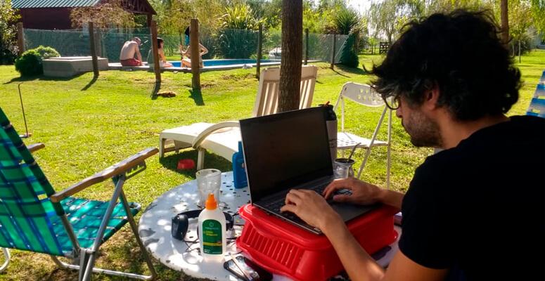 Cabañas Iremía Home Office