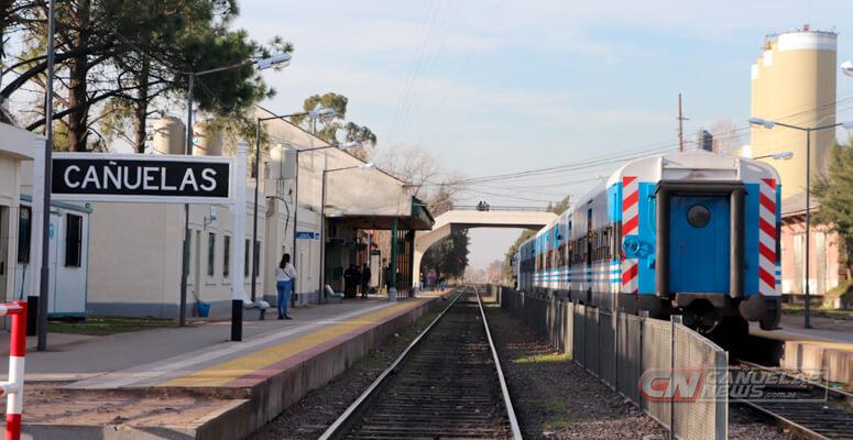 Estación de trenes de Cañuelas