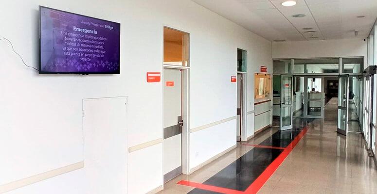 Habilitan el Sistema Triage de Emergencias en el Hospital Regional