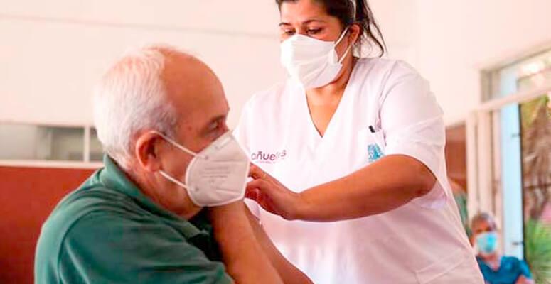 Más del 12 por ciento de la población local ya fue vacunada