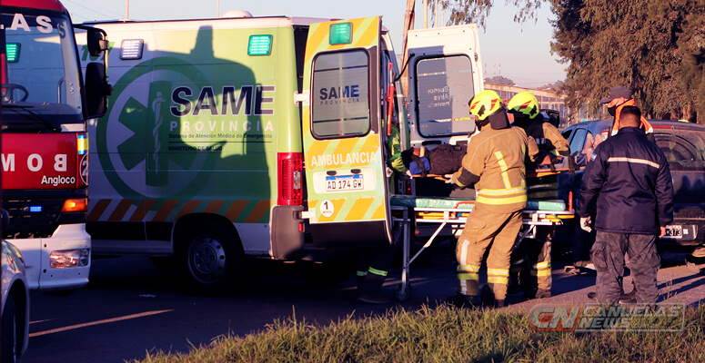 Video: varios heridos en un nuevo accidente en Ruta 205