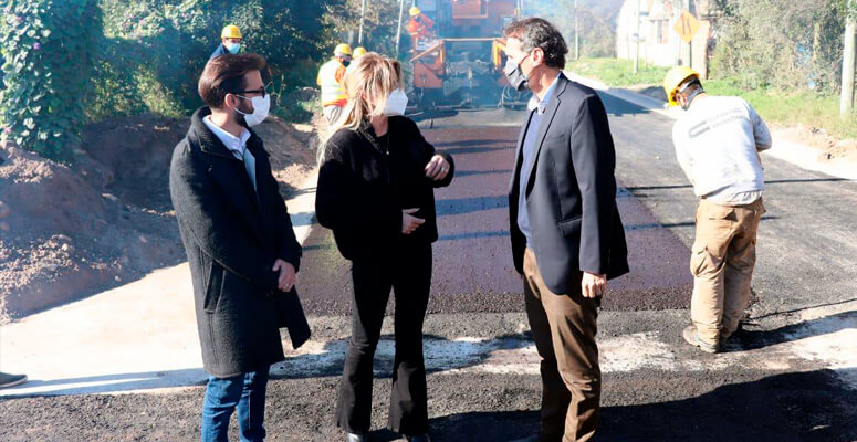 Katopodis y Simone recorrieron obras públicas en Cañuelas