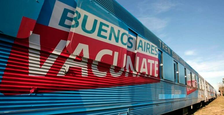 Partirá desde Vicente Casares el «Tren Sanitario»