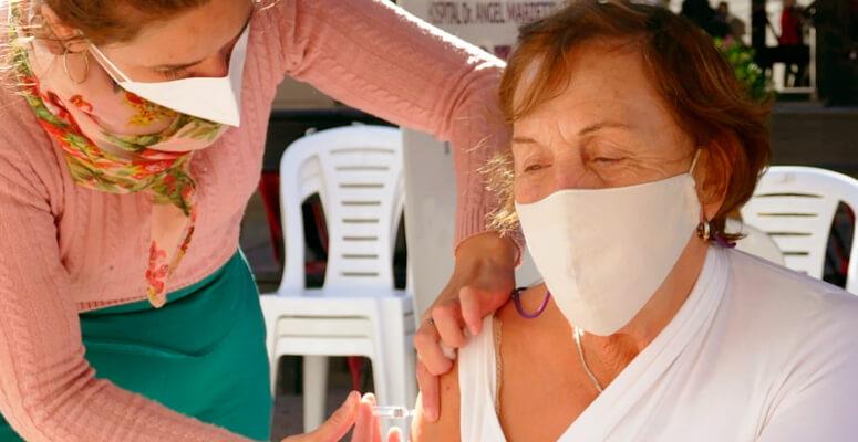 Comenzó la campaña de vacunación antigripal en Cañuelas