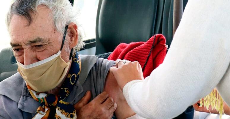 Casi 18 mil personas mayores de 60 ya fueron vacunados