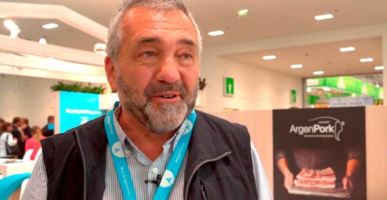 Daniel Fenoglio, presidente de Cabaña Argentina