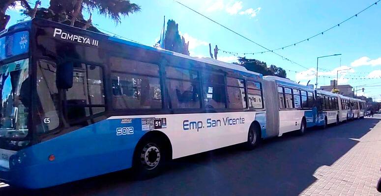 """Unidades """"anticovid"""" de la empresa San Vicente"""