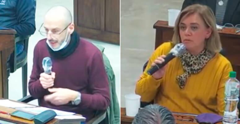 Maximiliano Mazzanti y Natalia Blasco