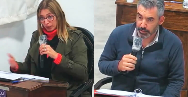 Romina Marquez Antunez y Carlos Alvarez
