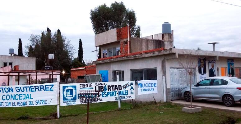 Local de UCeDe en el barrio Libertad